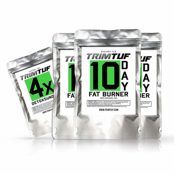 30 Fat Burner Tea + 4X Detox Tea