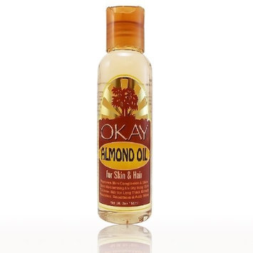 Okay Almond Oil for Skin and Hair, 2 Ounce