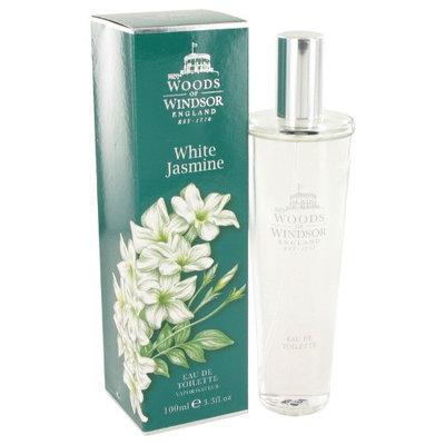 White Jasmine by Woods of Windsor Eau De Toilette Spray 3.3 oz