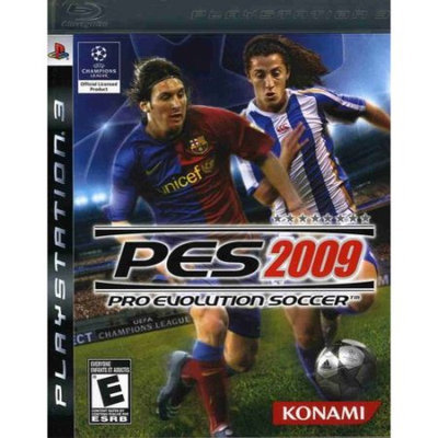 Konami Digital Entertainment Pro Evolution Soccer 2009 Playstation3 Game KONAMI