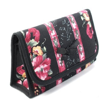 Small Cosmetic Bag with an Extra Detached Compact Pocket Mirror