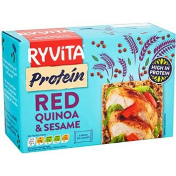 Ryvita Protein Red Quinoa & Sesame Crackers 5 Pack