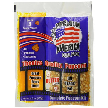 Great Western Premium America Dual Pack Popcorn, 48 Count (Pack of 48)