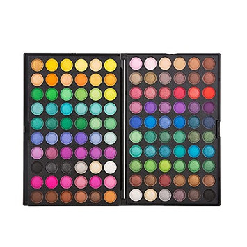 ELLITE Styles Ultimate Fusion Eyeshadow Palette (120 Color Eyeshadow Palette, Natural Nude and Neon Combination)#02