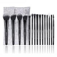 UPLOTER New 15 pcs Makeup Brush Set tools Make-up Toiletry Kit Wool Make Up Brush Set