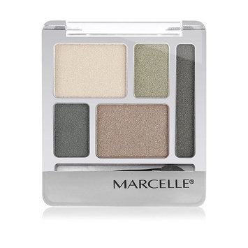 Marcelle Quintet Eyeshadow, Hunter Green, Hypoallergenic and Fragrance-Free, 0.20 oz