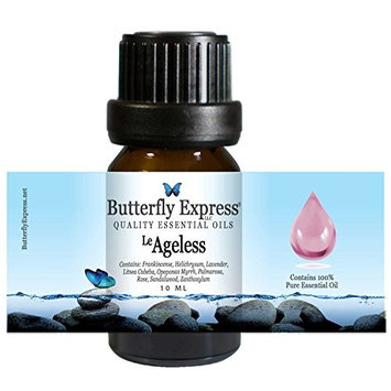 Le Ageless Essential Oil Blend 10ml - 100% Pure - by Butterfly Express