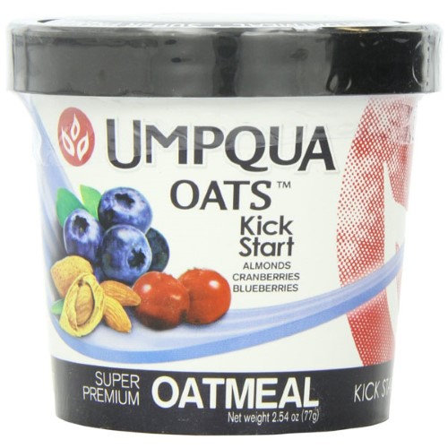 Umpqua Oats All Natural Oatmeal Kick Start 2.54 Ounce (Pack of 12)