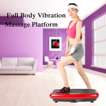 TOMSHOO Whole Body Vibration Platform Plate Fitness Machine Workout Trainer Hips Muscle Weight Loss Exercise Equipment