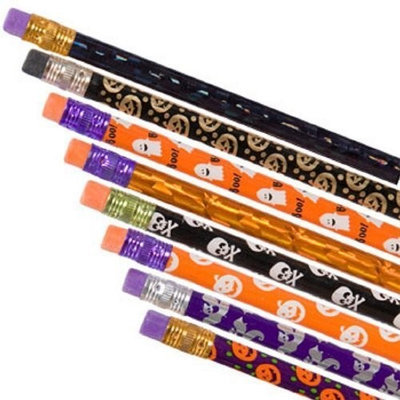 Greenbrier Halloween Themed Pencils - 12 Count