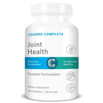 Cooper Complete - Joint Health Supplement - Glucosamine, Chondroitin, Gelatin, Bromelain - 30 Day Supply
