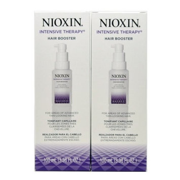 Nioxin Intensive Therapy Hair Booster 100 Ml/ 3.38 Fl. Oz. For Thin-looking Hair(pack of 2)