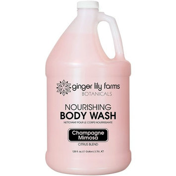 Ginger Lily Farms Botanicals Champagne Mimosa Body Wash Gallon [Citrus Blend Body Wash Gallon]