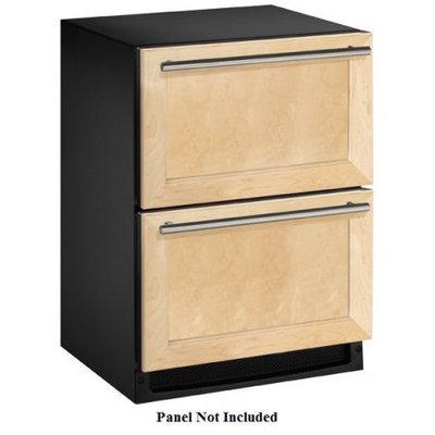 U-line Wood Overlay 2-drawer Refrigerator