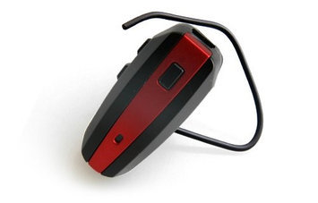 NoiseHush N500-10111 Red / Black Bluetooth Headset