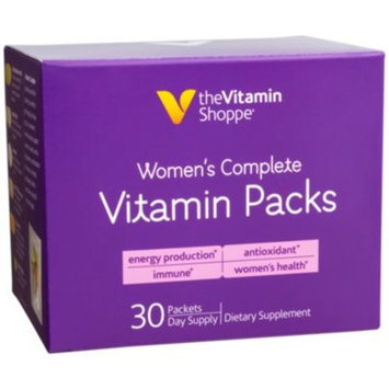 Womens Complete Vitamin Packs (30 Packets) at the Vitamin Shoppe