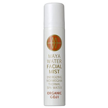 MAYAWATER - All Natural / Organic Thermal Spa Water Facial Mist (Goji) (2.37 oz / 70 ml)
