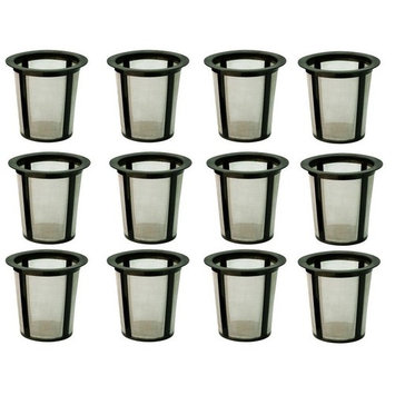 Refillable Baskets My K-cup Replacement Reusable Coffee Filter Keurig 12-Packs