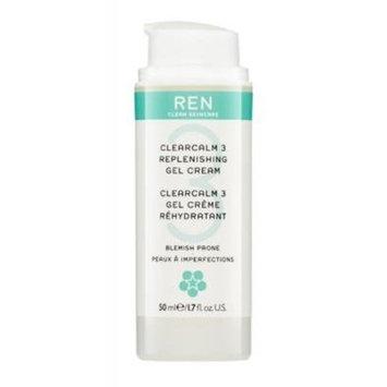 REN Clearcalm 3 Replenishing Gel Cream, 1.7 Fluid Ounce