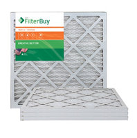 AFB Bronze MERV 6 18x22x1 Pleated AC Furnace Air Filter. Filters. 100% produced in the USA. (Pack of 4)