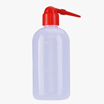 Squirt Bottle, 2Pcs Wash Bottle 500ML Diffuser Green Soap Wash Cleaning Squeeze Plastic Tattoo Bottle Non-Spray