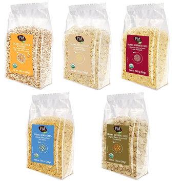 Lameri Cereal, Variety Pack w/ 5 flavors (Multigrain w/ Honey, Millet Flakes, Amaranth Flakes, Quinoa Flakes, Buckwheat), 7.05 oz (Pack of 4)