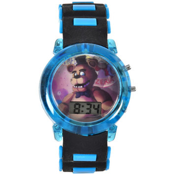 Licensed Five Nights at Freddy's Bullet Band Light Up Strap Watch