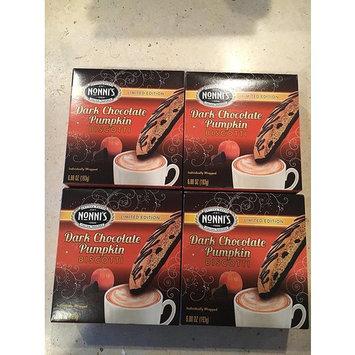 Nonni's Limited Edition Dark Chocolate Pumpkin Biscotti (Pack of 4)
