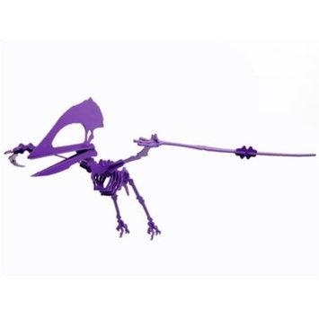 Boneyard Pets TUP-KPUR Tupuxuara Dinosaur 3D Puzzle, Purple