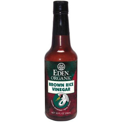 Eden Organic Brown Rice Vinegar, 10 fl oz, (Pack of 6)