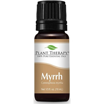 Plant Therapy Myrrh Essential Oil 10 mL (1/3 oz) 100% Pure, Undiluted, Therapeutic Grade