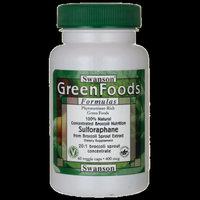 Swanson Sulforaphane from Broccoli 400 mcg 60 Veg Capsules