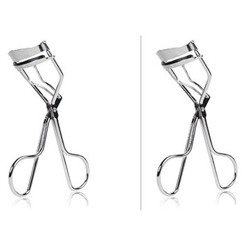 2 Pack Beauty Eyelash Curler - No Pinching, Just Dramatically Curled Eyelashes & Lash Line in Seconds. Get Gorgeous Eye Lashes Now!