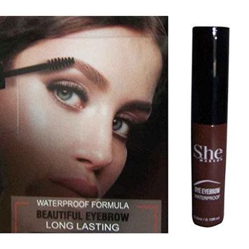 Cosmetics - Eyebrow Dye Tint Dark Brown By