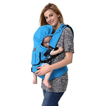 Kris&Ken Organic Ergonomic Carrier 4 In 1 With Hipseat Breathable Backpack for Babys Over 6 Months