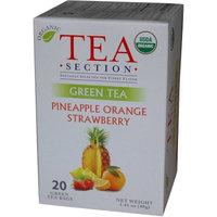 Tea Section Pineapple Orange Strawberry Organic Green Tea 20 Bags - Case of 6