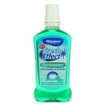 Wisdom 500ml Fresh Effect Freshmint Antibacterial Mouthwash by Wisdom