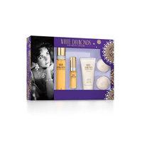 Elizabeth Arden Elizabeth Taylor White Diamonds Fragrance Gift Set for Women, 4 pc