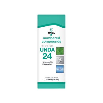 UNDA - UNDA 24 Numbered Compounds - Homeopathic Preparation - 0.7 fl oz (20 ml)