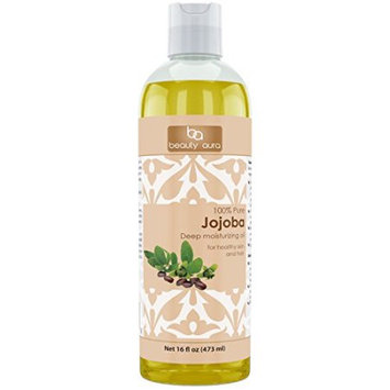 Beauty Aura #1 100 % Pure Jojoba Oil Is Cold Pressed From Best Quality Jojoba Seeds (16 Fl Oz)?