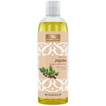 Beauty Aura #1 100 % Pure Jojoba Oil Is Cold Pressed From Best Quality Jojoba Seeds (16 Fl Oz)?