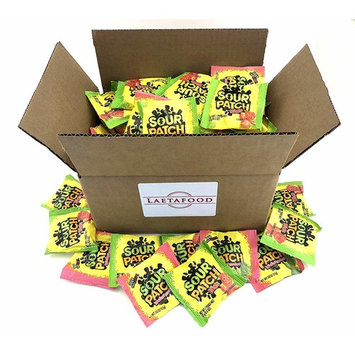 Sour Patch Kids, Sour Patch Watermelon Candy Assortment Fun Size Individual Servings Pouch, 0.5 Ounce (Pack of 5 Pounds)