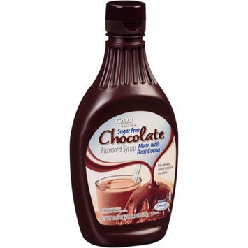 Great Value: Sugar Free Chocolate Flavored Syrup, 18.5 Oz
