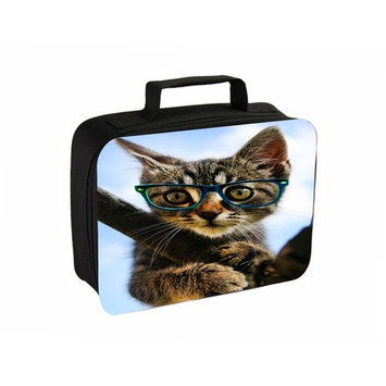 Hipster Kitty Jacks Outlet TM Travel Toiletry Bag with Hanger
