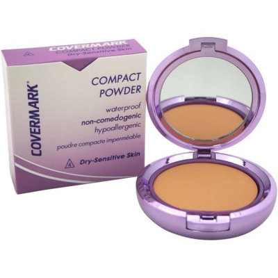 Compact Powder Waterproof - # 4 - Dry Sensitive Skin by Covermark for Women - 0.35 oz Powder