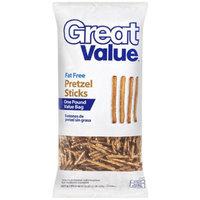 Great Value: Fat Free Pretzel Sticks, 16 oz