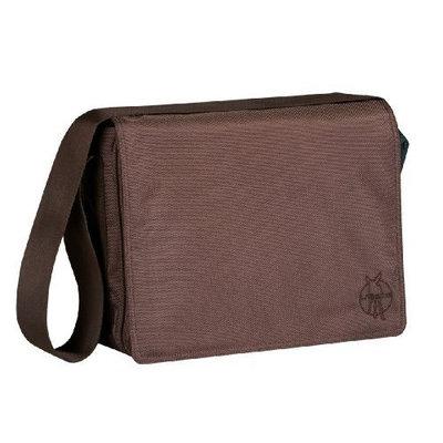 Lassig Small Messenger Diaper Bag, Glam Choco