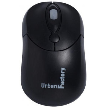 Urban Factory BCM01UF BLACK MOUSE USB WIRED ACCS
