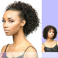 Motown Tress (FXLB-206) - Synthetic Half Wig in 1B