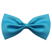 THZY Fashion Cute Dog Little Dog Cat Little Dog Pet Toy Child Bow Tie Clothes Blue